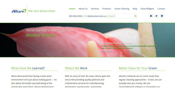 Allcare Maintenance Services in Vaughan, Ontario