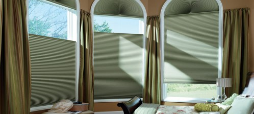 Is it possible to get window fashions for arches or other designs?