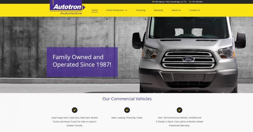 Autotron has a Large Selection of Commercial Trucks