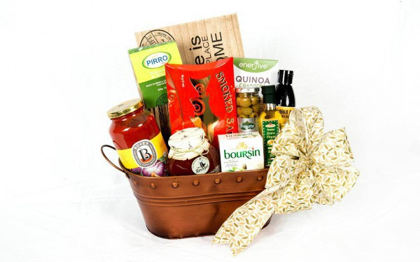 Surprise a friend, co worker or family member this summer with a beautiful gourmet gift basket!