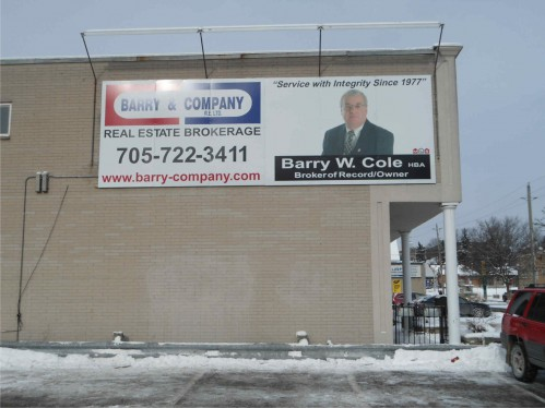 Barry & Company Large Sign