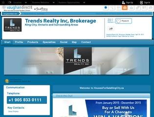 Trends Realty Inc, Brokerage