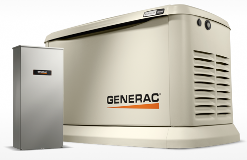 Guardian 22kW Home Backup Generator with Whole House Switch