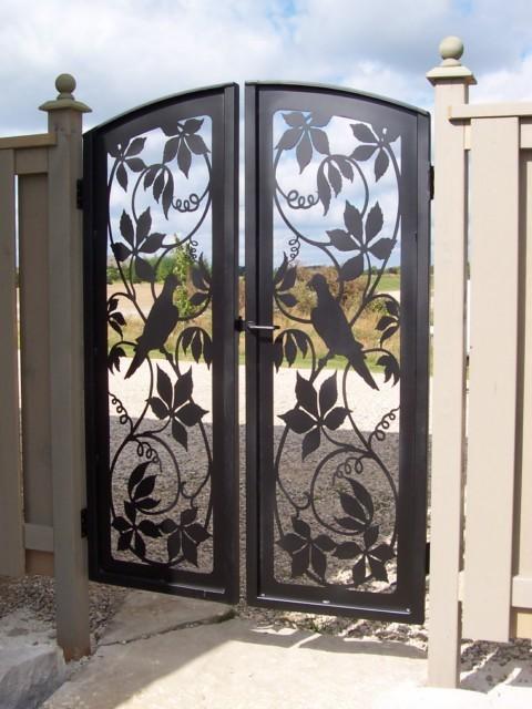Game Birds Double Garden Gate Set